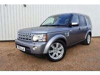 2012 12 LAND ROVER DISCOVERY 3.0 4 SDV6 GS 5D AUTO 255 BHP DIESEL