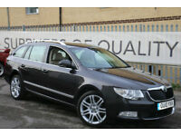 Skoda Superb 2.0TDI CR 170 DSG Elegance Estate 1 owner EX-DEMO TOP OF THE RANGE!