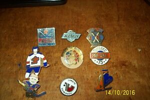 macaron broche hockey pins pee-wee nordiques beaupré