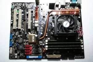 Asus M2N-E motherboard. AMD ATHLON 4400, 4 gb ram, GeForce 7600