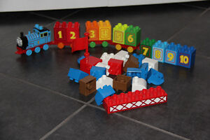 Thomas the Train Mega Blocks Crane Kit Cambridge Kitchener Area image 1