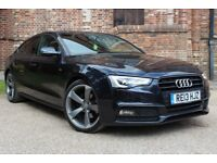 Audi A5 2.0 TDI BLACK EDITION 177PS (blue) 2013