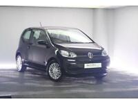 2017 Volkswagen UP Petrol black Semi Auto