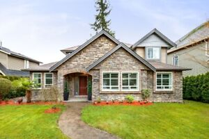 White Rock/South Surrey Beautiful 4 Bedroom House for Rent