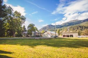 Country Home On Acreage in Pemberton, B.C.