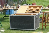 Large Show Trunk, Army trunk and Mounting blocks