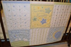Pottery Barn Quilt and Crib Bumper