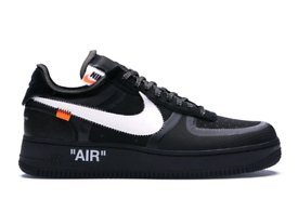 new styles 92ae3 3afa4 Nike The 10  Air Force 1 Low Black UK 6