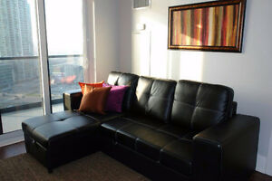 2 BEDROOM-FULLY FURNISHED-SQUARE ONE CONDO-MISSISSAUGA