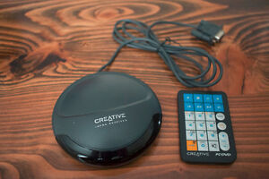 Creative Infrared remote and receiver