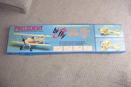 "Wanted: ""BiFly""  -- by Precedent    RC Radio Control  Biplane Aircraft"