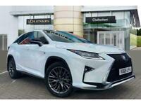 2019 Lexus RX ESTATE 450h 3.5 F-Sport 5dr CVT Auto SUV Petrol/Electric Hybrid Au