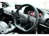 2017 Audi S3 *VIRTUAL COCKPIT* 2.0 S3 TFSI QUATTRO BLACK EDITION 4d 306 BHP ***V