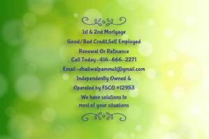 FIRST MORTGAGE,SECOND MORTGAGE, RENEWAL OR REFINANCE.