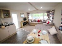 2018 Model Static Caravan For Sale With double Glazing & Central Heating 8 Berth At Sandylands