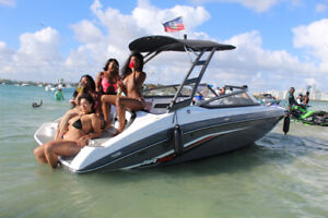 Boat and Slingshot and T-rex  rentals Miami