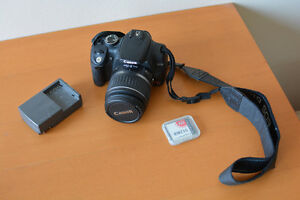 Canon Rebel XT with 55MM Lens and 512MB + 2GB CompactFlash