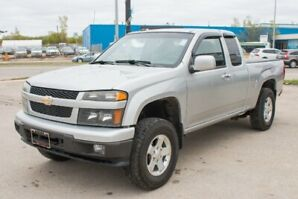 2011 Chevrolet Colorado 4wd Ext Cab