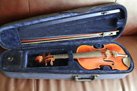 Violin (early 1900's) with case