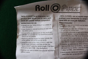 Roll-O-Puzz Original Puzzle Rollup Tube Kitchener / Waterloo Kitchener Area image 4