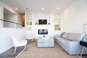 FOR RENT: 2 bedroom executive suite w amazing view - FURNISHED