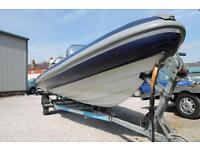 Porters 6.8m rib inflatable boat