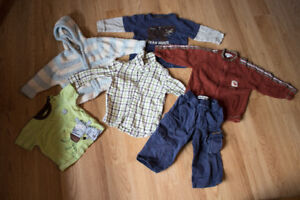 Baby Boy Clothing Lot 12-18 Months
