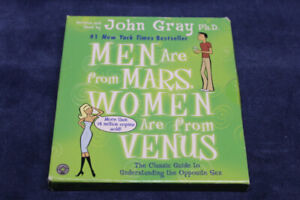 Audio Book, Men Are from Mars Women Are from Venus