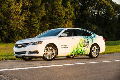 CNG-Capable Chevy Impala to Sell for $38,210