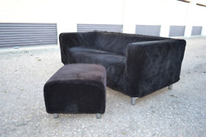 BLACK IKEA COUCH ONLY $99!!