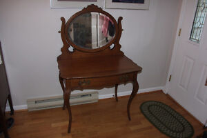 Antique Vanity/Dressing Table Solid Wood