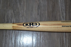 "KR3 Northern White Ash M110 Wooden Baseball Bat 30"" -5"