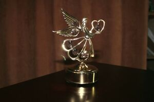 Lovely Angel With Wings Music Box  Crystals Rotates Kingston Kingston Area image 3