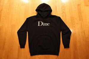 Dime Hoodie - Navy - Large