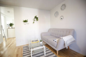 NEW Cosy Fully Furnished + Equipped 2 Bedroom in St Henri