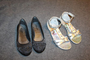 Girls shoes & sandals size 12