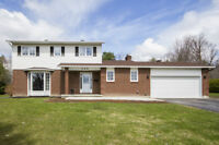 An exquisite 4 bedroom home with over $80,000 in updates