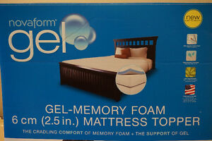 Novoform Gel Mattress Pad:  Single Bed
