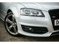 2012 Audi A3 2.0 S3 SPORTBACK TFSI QUATTRO BLACK EDITION 5d 261 BHP Hatchback Pe