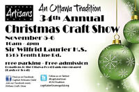 34th Annual Christmas Craft Show – An Ottawa Tradition