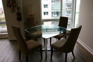 **Condo Furniture For Sale**  dining tables, chairs, desk, bed