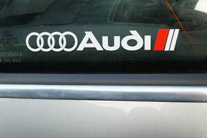 Audi  ( vinyl stickers)