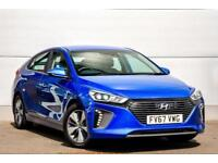 2018 Hyundai Ioniq 1.6 GDi (105ps) Premium Plug-in Hybrid PETROL/ELECTRIC blue