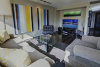 Furnished 2 Bedroom Plus Den Mission Condo Available Immediately