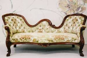 Reduced - Antique Victorian Double Ended Chaise Lounge Chermside Brisbane North East Preview