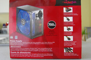 Rocketfish PC Power Supply 700 Watts