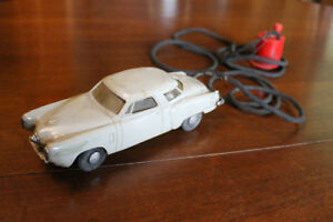 Tin 1950's Toys - STRUCTO Car -carrier, STUDABAKER, Shell bank
