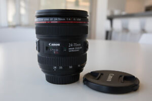 Canon EF 24-70mm f/4L IS USM for sale