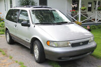 1997 Nissan Quest GXE Minivan, Van, LOW KILOMETERS