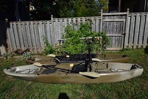 Two - Ascend® FS12T Sit-on-Top Kayak and roof rack!